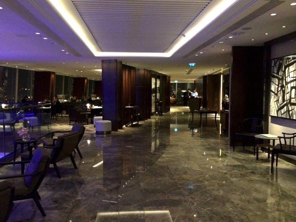 A review of Lunch at the shard - Ting - Shangri-La - interior