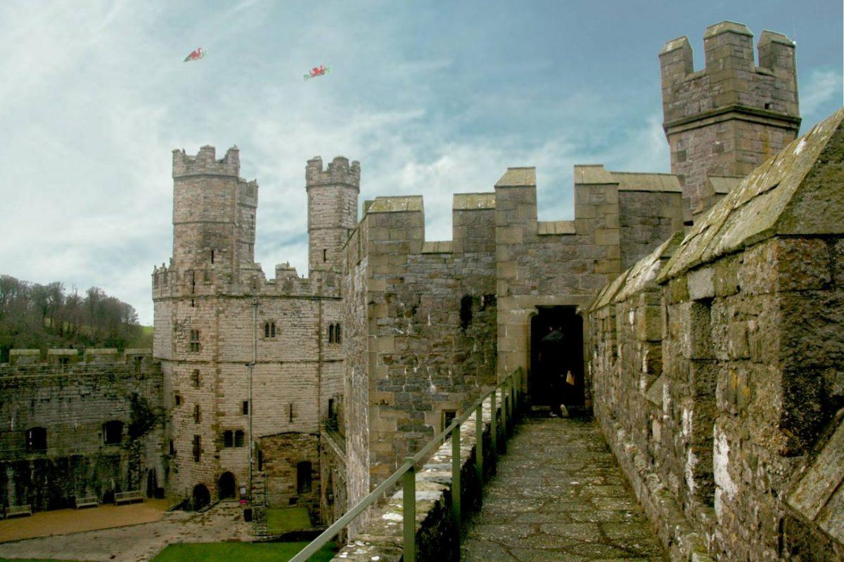 findyourepic visiting caernarfon castle on our weekend trip to snowdonia - well tower