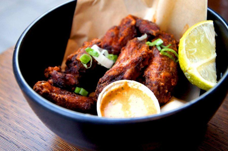 Real jamaican jerk chicken at Rudies in Dalston - boston chicken wings 3