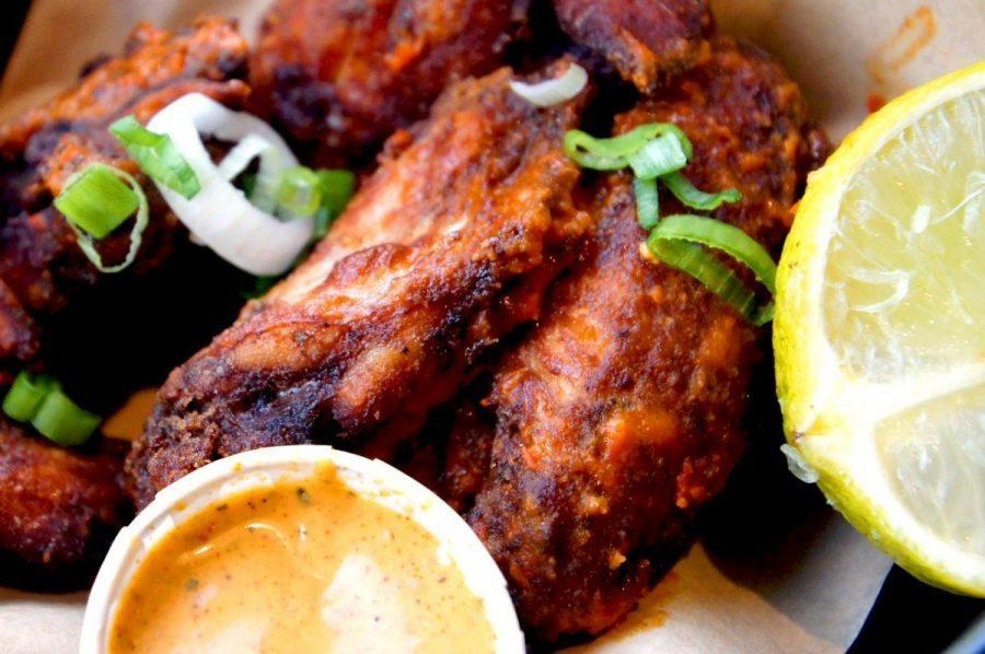 Real jamaican jerk chicken at Rudies in Dalston - boston chicken wings 4