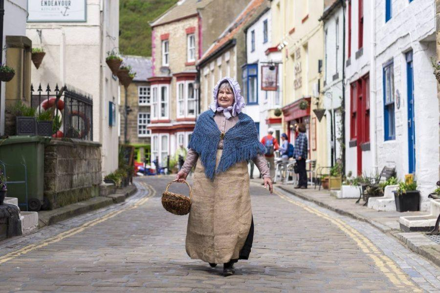 North York Moors Coast - FISH FILLET FEAST FESTIVAL - Staithes fisherwoman-1