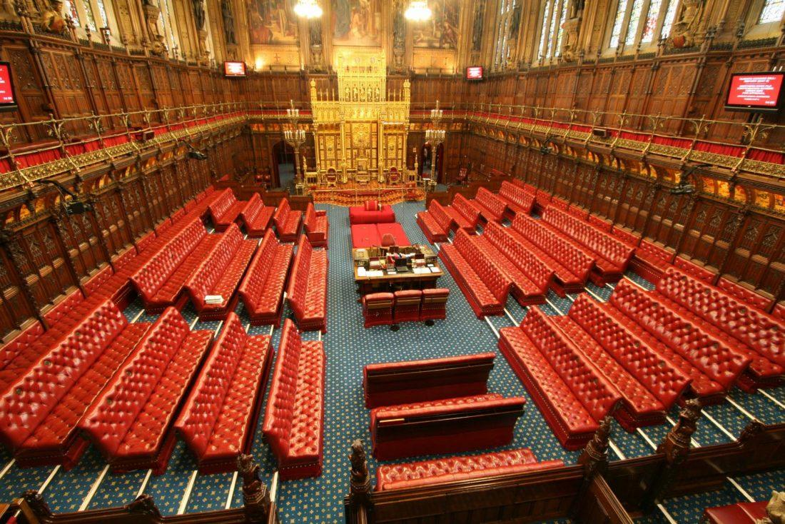 Stepping inside British History at the Houses of parliament audio tour house of lords 2