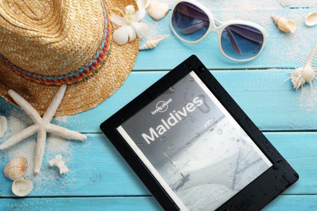 The waterproof kobo aura h20 the only ereader you will ever need on your travels