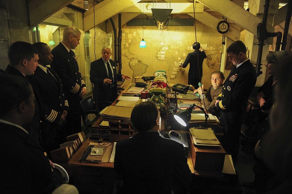 An Educational Visit To The Churchill War Rooms