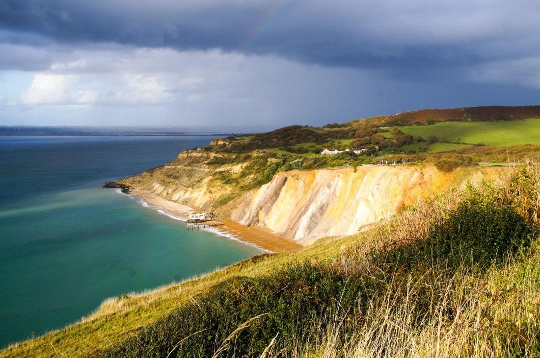 A Literary Weekend in the Isle of Wight - Path to the Needles