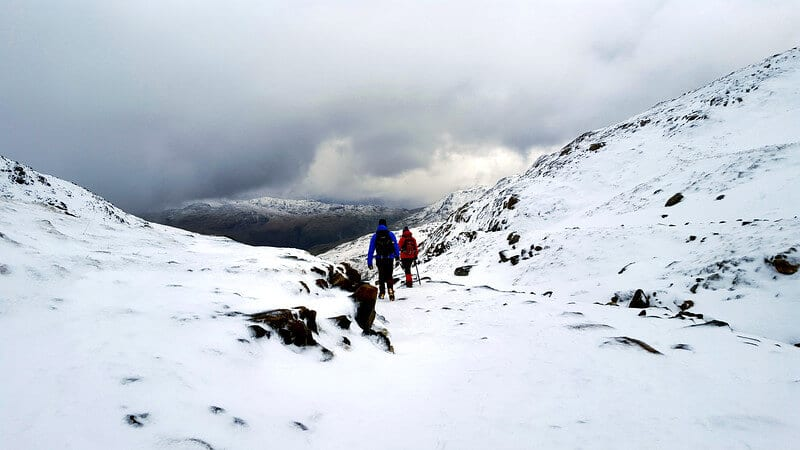 Find you Epic Climbing Snowdon in Winter via the Miners Track 26 L
