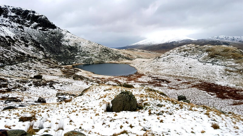 Find you Epic Climbing Snowdon in Winter via the Miners Track 6 L