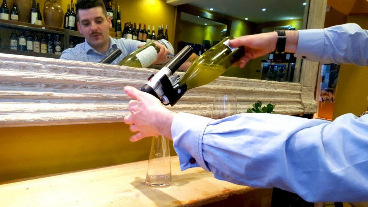coravin system on show at the Shepherd Market Wine House London
