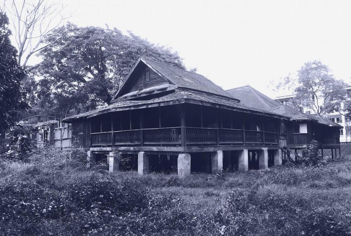 historic pictures of 137 pillars house in chiang mai thailand