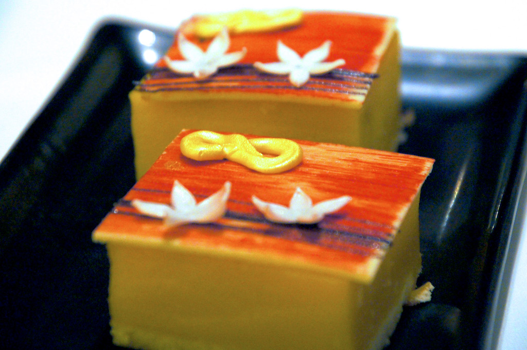 number 8 cakes at min jiang in london