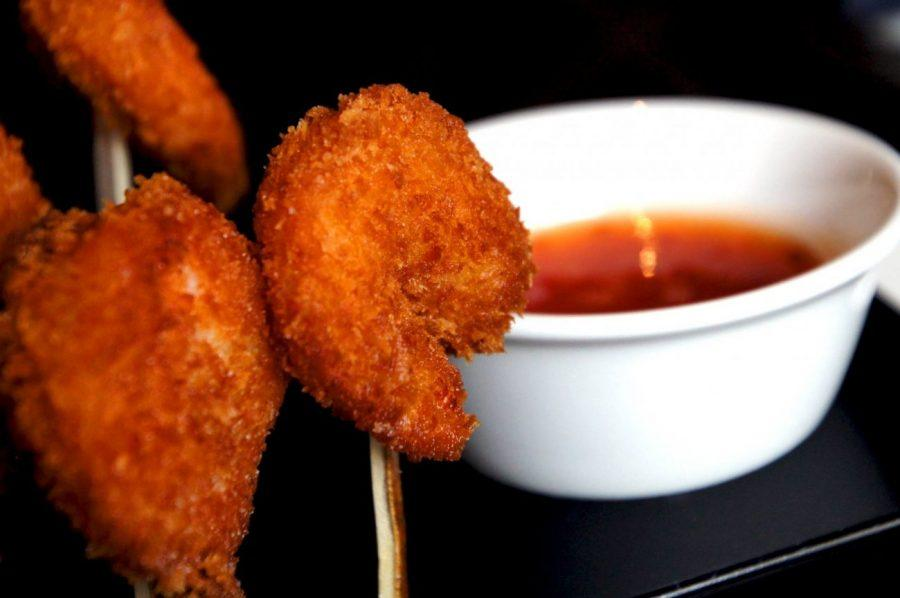 panko crusted prawns at the Polo Bar Regent Street Mayfair in London picture 3
